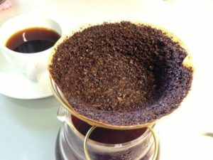 咖啡濾紙過濾
